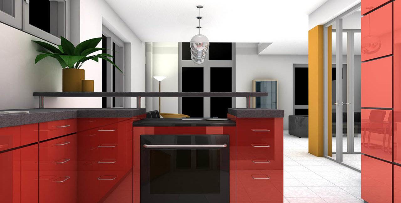 La cucina laccata: smetti di brancolare nel buio