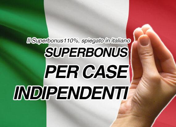 superbonus per case indipendenti